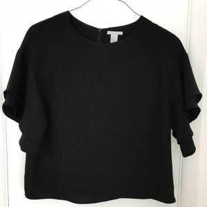 H&M Tops - Bell sleeve blouse